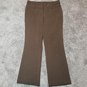 Maurices Work Career Dress Pants Brown